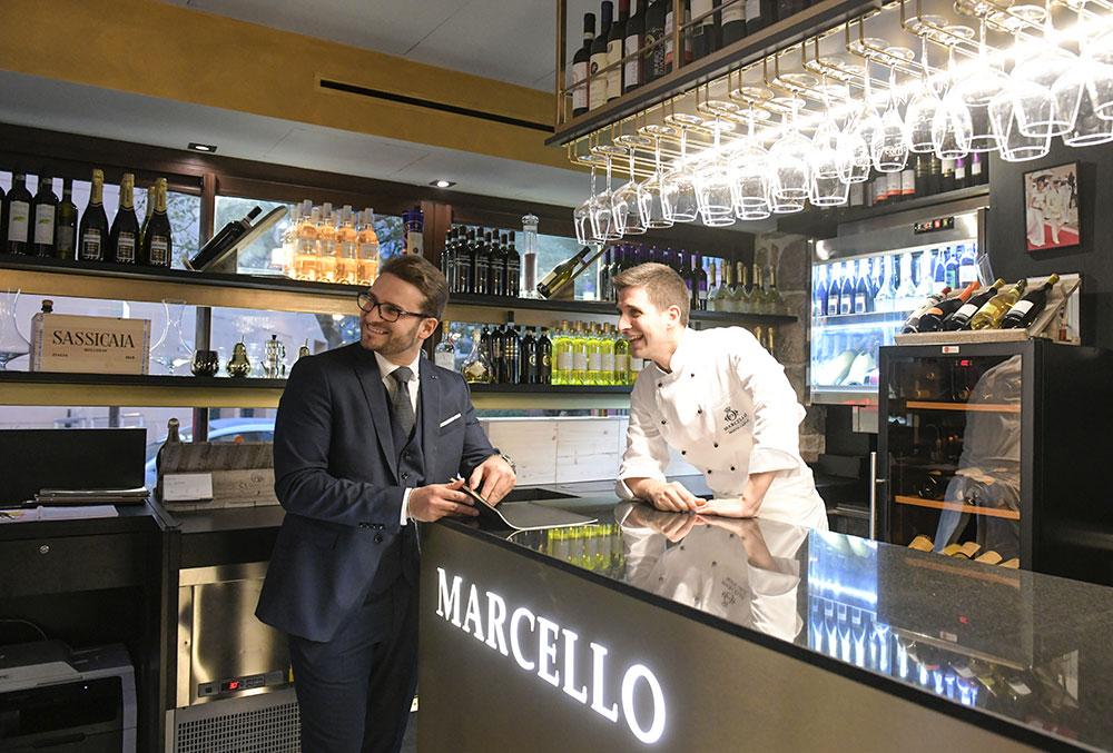 Chef e Maitre del Ristorante a Montecarlo