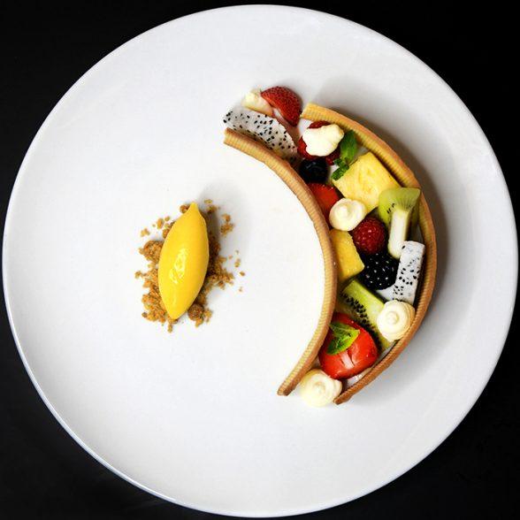 Sorriso alla frutta